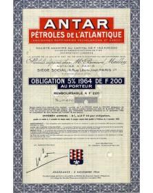 ANTAR Pétroles de l'Atlantique (Anciennes Raffineries Pechelbronn et Serco)