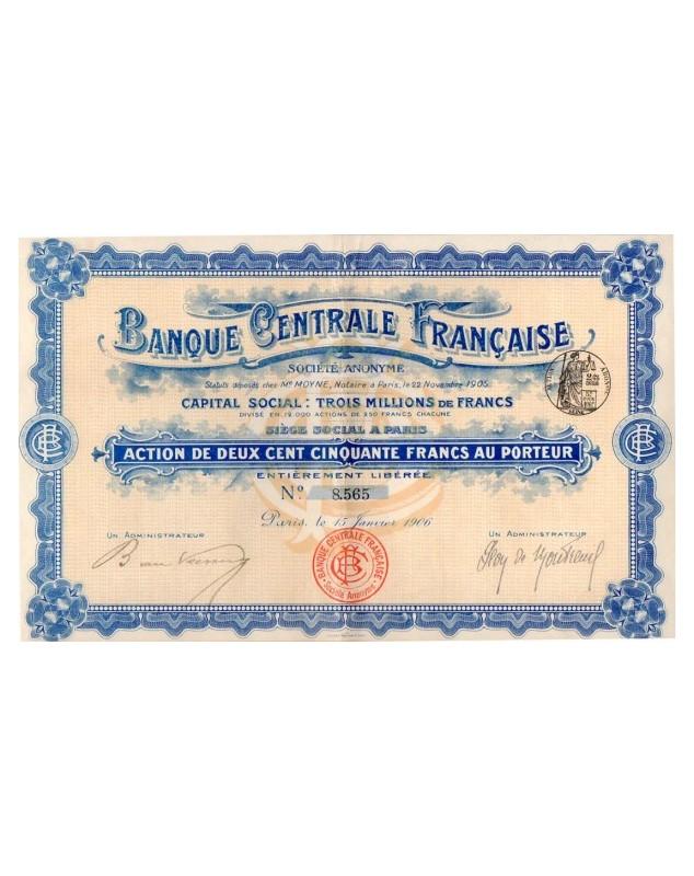 Banque Centrale Française
