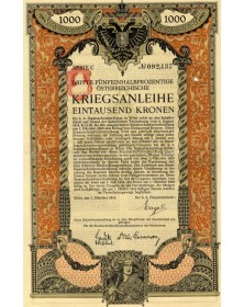 Oesterreichische Kriegsanleihe