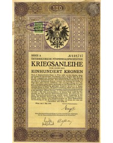 Emprunt de Guerre Autrichien 5,5%
