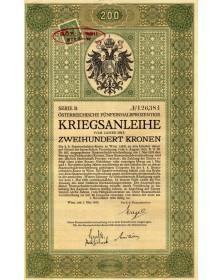 Osterreichische 5.5% Kriegsanleihe 1915