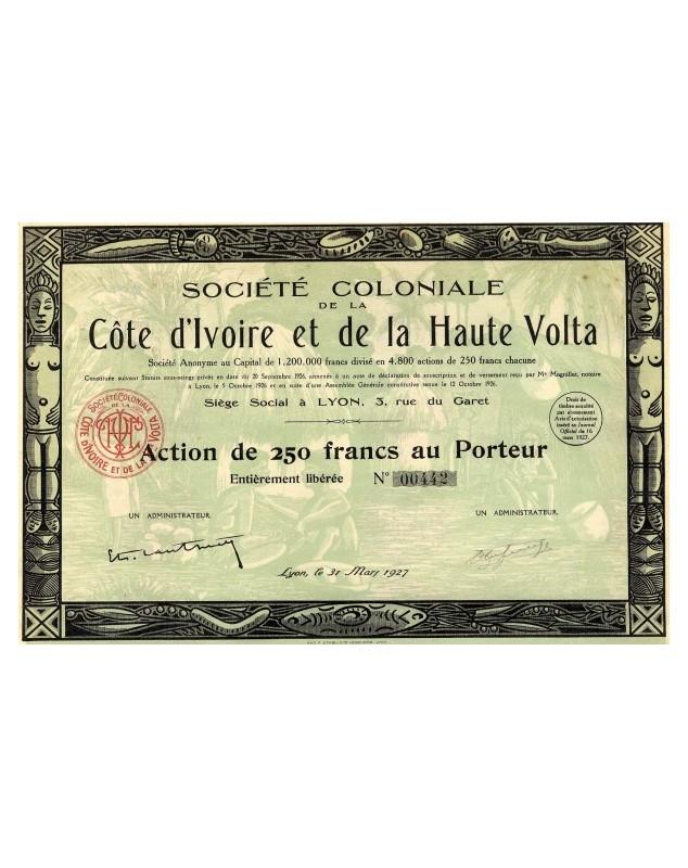Sté Coloniale de la Côte d'Ivoire et de la Haute Volta