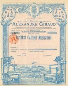 Anciens Ets Alexandre Giraud