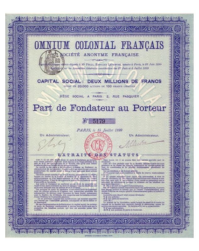 Omnium Colonial Français