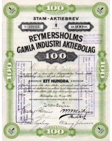Reymersholms Gamla Industri Aktiebolag