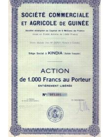 Sté Comrmerciale et Agricole de Guinée