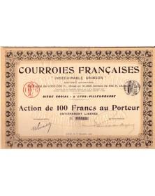 Courroies Françaises (Indéchirable Grimson)