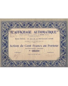 L'Affichage Automatique
