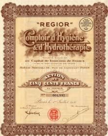 REGIOR -Comptoir d'Hygiène & d'Hydrothérapie
