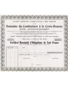 Habitations à Bon Marché du Domaine du Combattant à la Croix-Rousse (Cité Antoine-Rosset)
