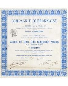Cie Oleronnaise A. Bouineau & Fils