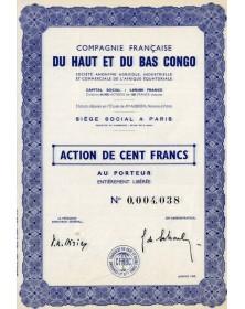 Cie Française du Haut et du Bas Congo