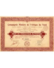 Cie Minière de l'Afrique du Nord