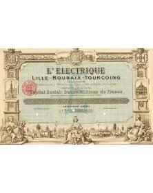 L'Electrique de Lille-Roubaix-Tourcoing