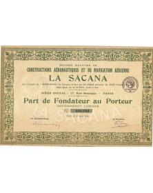 S.A. de Constructions Aéronautiques & de Navigation Aérienne La Sacana