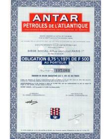 Antar - Pétroles de l'Atlantique (Anciennes Raffineries Pechelbronn et Serco)