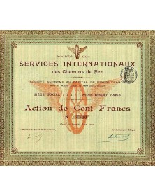 Sté des Services Internationaux des Chemins de Fer