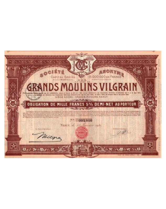 S.A. des Grands Moulins Vilgrain