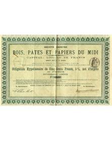 Sté des Bois, Pâtes et Papiers du Midi
