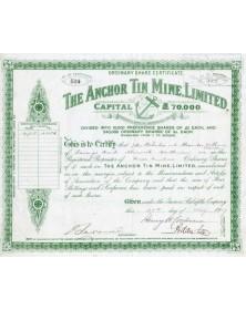 The Anchor Tin Mine Ltd