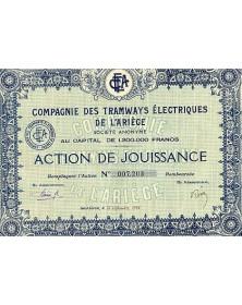 Cie des Tramways Electriques de l'Ariège