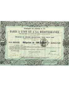 Railroads/Lines Cie des Chemins de Fer de Paris à Lyon et à la Méditerranée