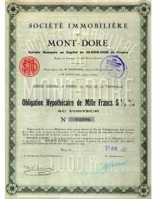 Sté Immobilière du Mont-Dore
