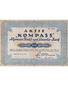Kompass -Allgemeine Kredit und Garantie-Bank