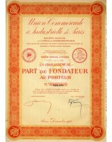 Union Commerciale & Industrielle de Paris