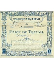 Ets Hutchinson - Cie Nationale du Caoutchouc