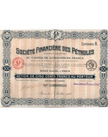 Sté Financière des Pétroles