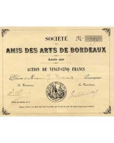 Sté des Amis des Arts de Bordeaux