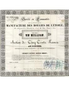 Manufacture des Bougies de l'Etoile - candles and soap
