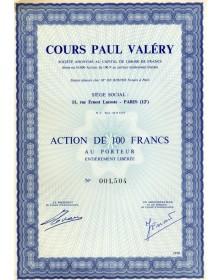 Cours Paul Valéry