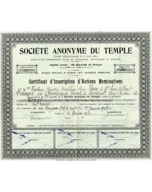 S.A. du Temple