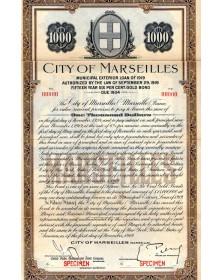 City of Marseilles