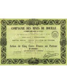 Cie des Mines de Houille  (Pas-de-Calais)