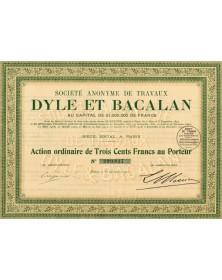 S.A. de Travaux Dyle et Bacalan