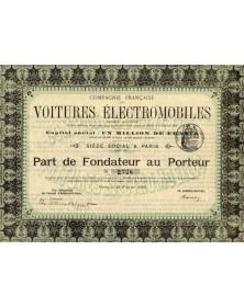 Cie Française de Voitures Electromobiles