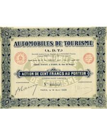 Automobiles de Tourisme