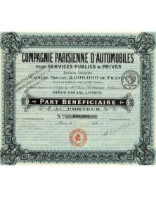 Cie Parisienne d'Automobiles