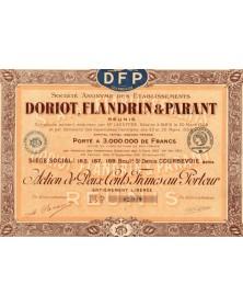 Sté Doriot, Flandrin & Parant