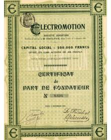 Electromotion
