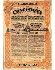 Concordia, S.A. Roumaine pour l'Industrie du Pétrole
