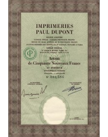 Imprimeries Paul Dupont