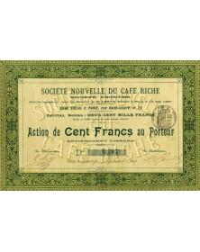 Sté Nouvelle du Café Riche