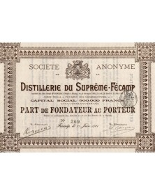 S.A. de la Distillerie du Suprême-Fécamp