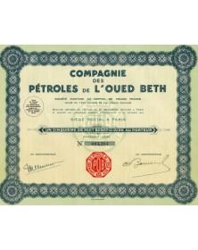 Compagnie des Pétroles de l'Oued de Beth