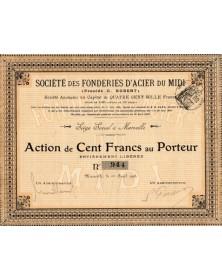 Sté des Fonderies d'Acier du Midi (Procédé G. Robert)