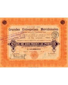 Sté des Grandes Entreprises Méridionales (Ancienne Maison F. Thévenot)